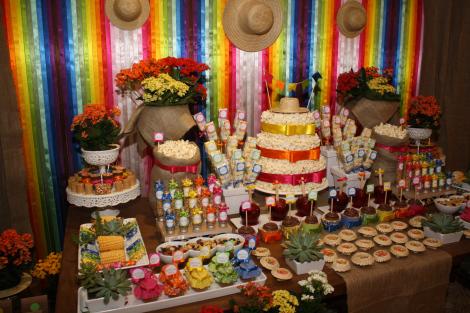 Aniversário com Tema de Festa Junina