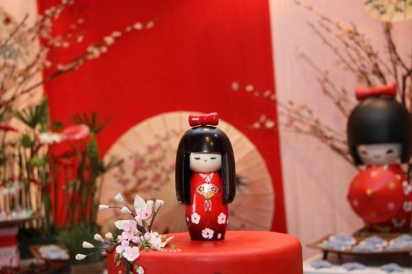 Festa de Aniversário Boneca Kokeshi