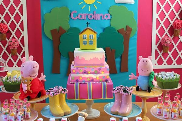 festa de aniversario peppa pig 10