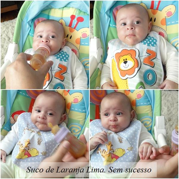 Introducao papinhas na alimentacao do bebe