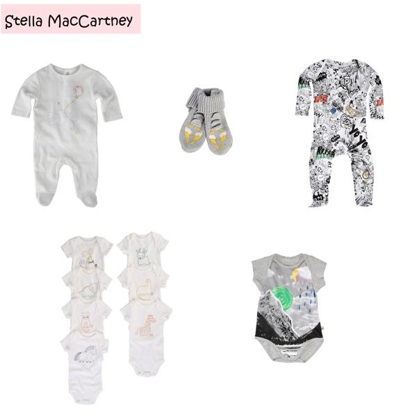 Roupa Unisex para Bebe Stella MacCartney-vert